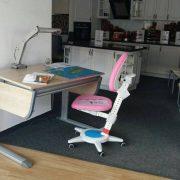 birou ergonomic pentru copii Joker si scaun de birou ergonomic pentru copii Maximo