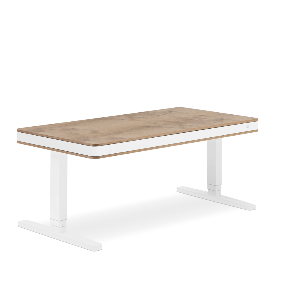 birou ergonomic T7 XL exclusive - stejar