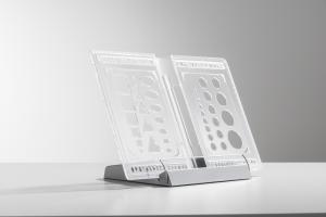 Suport de carte transparent