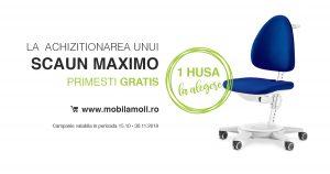 Scaun MAXIMO + 1 husa GRATIS