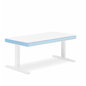 birou ergonomic T7 XL - light blue