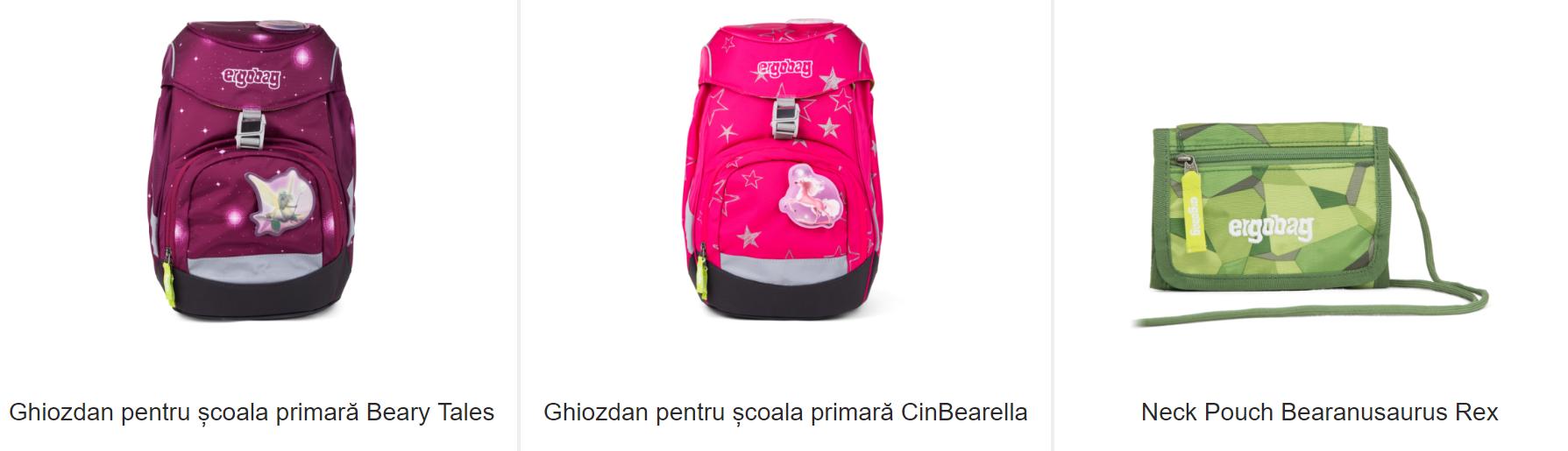 ghiozdan si geanta pentru scoala si gradinita - moll romania